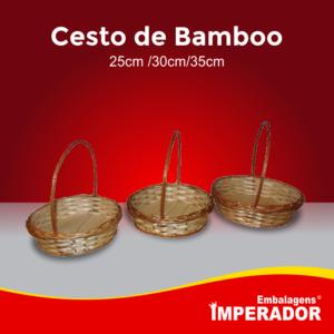 CESTO DE BAMBOO