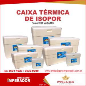 CAIXA ISOPOR